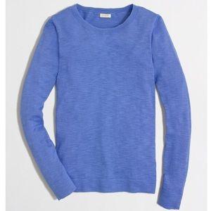 NWT Jcrew Blue Teddie Sweater